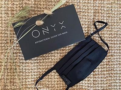מסכת פנים ONYX מועשרת ביוני כסף הגנה אנטי-בקטריאלית